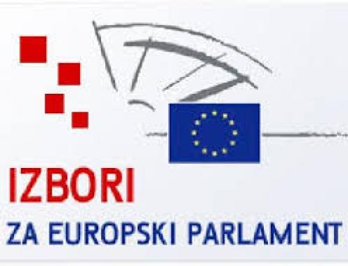 OBAVIJEST- IZBORI ZA EU PARLAMENT 2019.